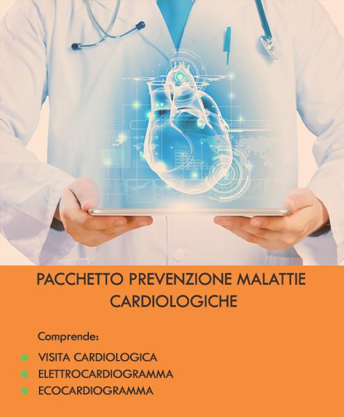 pacchetto prevenzione malattie cardiache