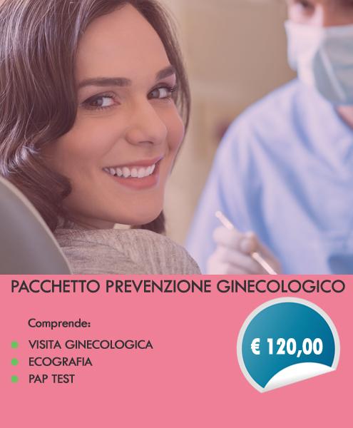 promozione visita ginecologica
