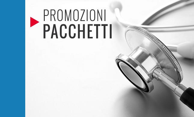promozioni pacchetti medici