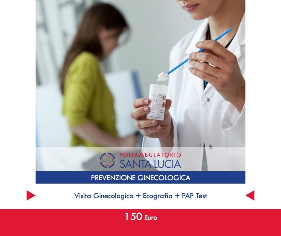 ecografia pap test prevenzione visita ginecologica galatone