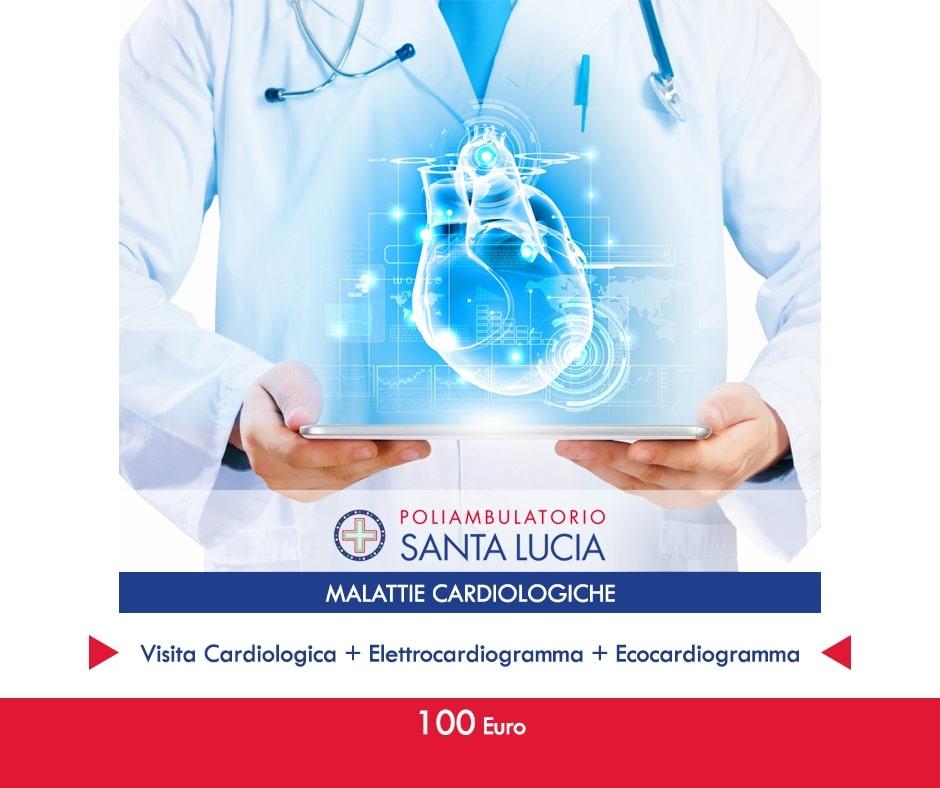 malattie cardiologiche promozioni elettrocargiogramma ecocardiogramma visita cardiologica