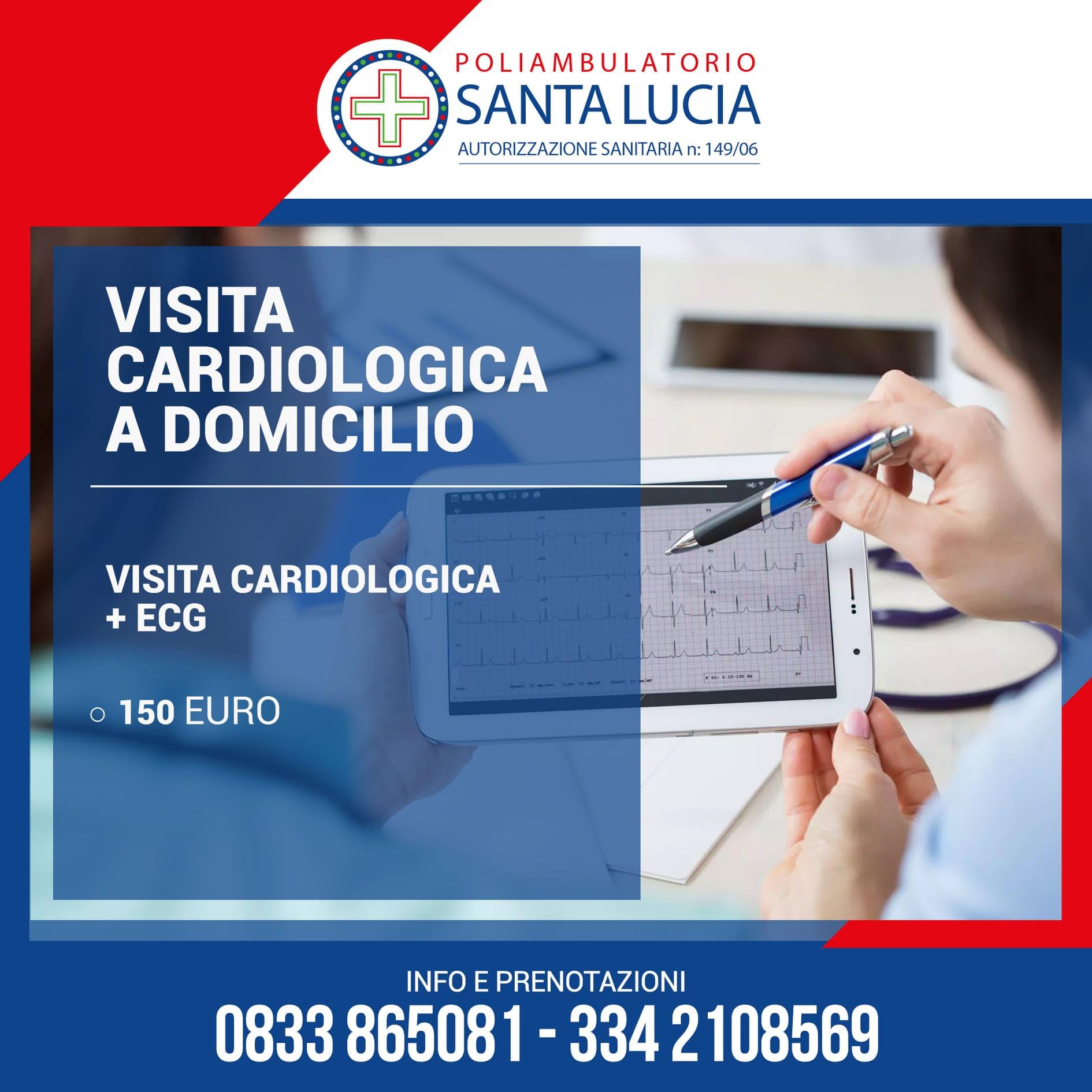 visita cardiologica ecg galatone poliambulatoio santa lucia
